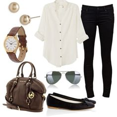 Neutrals, Travel Attire.