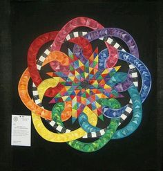 Award-winning quilt by