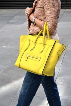 Bag Lady([ ] on Pinterest | Celine, Celine Bag and Saint Laurent