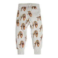 Tiger print Sweatpants Grey