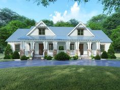 Find your dream modern-farmhouse style house plan such as Plan which is a 5016 sq ft, 8 bed, 6 bath home with 0 garage stalls from Monster House Plans. Craftsman Farmhouse, Craftsman Style House Plans, Modern Farmhouse Style, Modern House Plans, Farmhouse Plans, House Plans And More, Family House Plans, Duplex Floor Plans, Monster House Plans