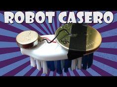 Como Hacer un mini Robot Casero con un Celular - YouTube