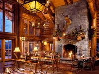 WhiteFace Lodge - Lake Placid, New York: This is Winter Wonderland. The 94-suite Whiteface Lodge in Lake Placid is the ultimate winter getaway with sprawling suites, a 5,800-square-foot spa and quail eggs on the menu at Kanu restaurant. Staying here, a stone's throw from the venues for the 1932 and 1980 Olympic Winter Games, is like walking around a winter wonderland.