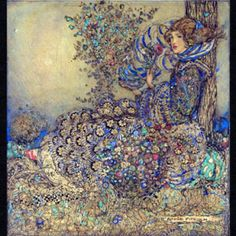 Studied and taught at Glasgow School of Art ~ member of the Glasgow Girls ~ Annie French ~ 1872~1965   #ArtNouveau