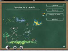 Swedish in a month - Lær svensk på en måned - Med denne app kan du lære at tale svensk, om ikke flydende på en måned, så kan du i hvert fald få en god start og et sjovt indblik i nabosproget