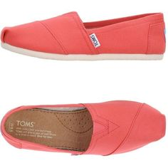 Toms Low-tops  Sneakers ($61) ❤ liked on Polyvore featuring shoes, sneakers, coral, tom trainer, toms footwear, toms shoes, low profile sneakers and toms sneakers Cheap Toms Shoes, Toms Shoes Outlet, Uggs Outlet, Toms Outfits, Fashion Outfits, Fashion Trends, Toms Sneakers, Toms Style, Ugg Classic Tall