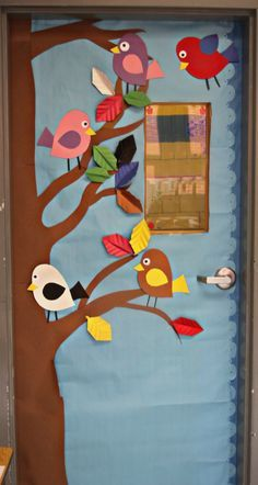Spring classroom door or bulletin board idea
