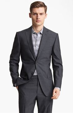 720b11eaa8d Z Zegna Trim Fit Wool Suit available at  Nordstrom Modern Suits