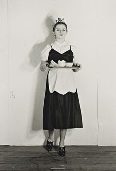 mpdrolet:  Untitled #383 (the maid), 1976 from Murder Mystery People Cindy Sherman