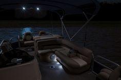 Courtesy Lights to still enjoy your boat at night!