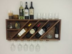 40 DIY Wine Rack Projects to Display Those Lovely Reds and Whites - Neue Ideen