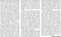 SCRIVOQUANDOVOGLIO: CAGLIARI ALL'ATTACCO DEL MILAN A SAN SIRO (26/09/2...