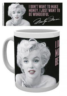 Marilyn Monroe Photo Coffee Mug - Quote (4 x 3 inches) 1art1 http://www.amazon.com/dp/B00TGM4I4M/ref=cm_sw_r_pi_dp_W414ub14197NF