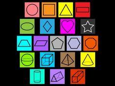 Shape Songs Kindergarten Art, Preschool Math, Math Classroom, Math Activities, Maths, Preschool Readiness, Teaching Shapes, Have Fun Teaching, Teaching Math