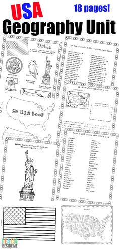 United States Geography Lesson Unit