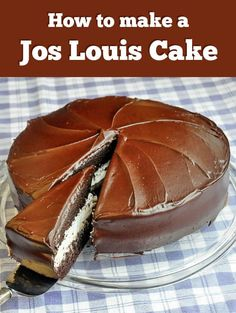 How to make a Jos Louis Cake