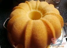 A fluffy cup ring cake. Eastern European Recipes, Ring Cake, Egg Recipes, Recipe Collection, Delicious Desserts, Meal Planning, Food And Drink, Pumpkin, Meals