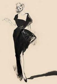 David Downton   Marlene Dietrich