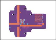 Plano 3 enthousiast: hierbij heb ik de zachte paarse letters vervangen door fel blauw en heb ik ze doen afwisselen met oranje letters om meet contrast te verkrijgen.