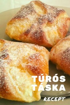 Puff Pastry Recipes, Something Sweet, Croissant, French Toast, Sweets, Breakfast, Food, Hungarian Recipes, Phyllo Dough Recipes