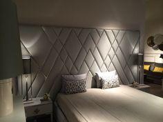 Trendy home bedroom decor head boards Ideas Headboards For Beds, Interior Design Bedroom, Bedroom Bed Design, Upholstered Wall Panels, Bedroom Interior, Upholstered Walls, Bed Back Design, Home Bedroom, Furniture Design