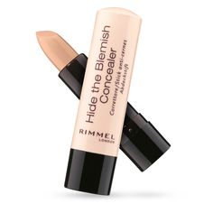 Rimmel London Hide the Blemish Concealer- This one is a lifesaver on those days when I'm not looking my best- just pop it on top of the blemish, blend and voila- you are ready to go!