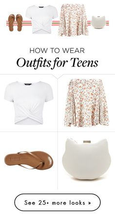 """""""Cute clutch"""" by blueeyed-dreamer on Polyvore featuring New Look and Tkees"""