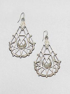Bing Bang Sacred Geometry Drop Earrings