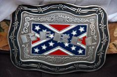 Wedding Redneck Belt Buckle