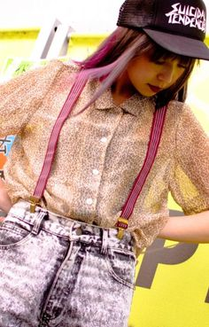 Leopard Sear Shirts Suspender are so cute!!! http://aileron-dg.com