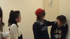 ℃-ute - 矢島舞美 Yajima Maimi、中島早貴 Nakajima Saki、萩原舞 Hagiwara Mai、岡井千聖 Okai Chisato :GIF