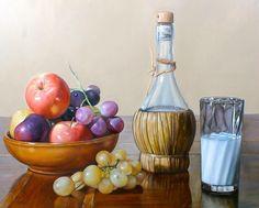 Bodegones Modernos | ... bodegones bodegon hiperrealista cuadros de bodegones en alta Fruit Painting, Modern Art Paintings, Amazing Pics, Conceptual Art, Colored Pencils, Still Life, Decoupage, Centerpieces, Canvas Art