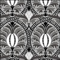 This image just shows a section of the design. Click to see the full stencil design.
