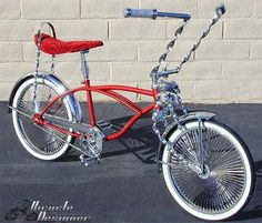 Bicycle parts that work with lowrider bicycles and cruiser bicycles and chopper bicycles and trikes. Description from myip.net. I searched for this on bing.com/images