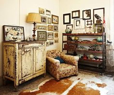Furniture Focus: Bohemian Style from Apartment Therapy. Image from Brabourne Farm.