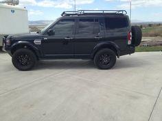 """Black LR4 Build 18"""" Compomotive Wheels, Kaymar Rear Bumper, Baja Rack"""