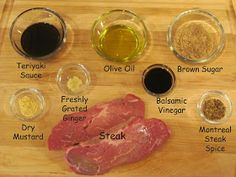 The Girly Girl Cooks: The Best Steak Marinade
