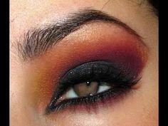 Arabic Eye Makeup Tutorial.  #Beauty #ConGLAMerate