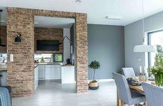 Nordic gray modern home interior design 13