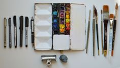 Art Tools of Shari Blaukopf (what she uses and why)| Parka Blogs