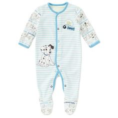 101 Dalmations Baby Sleepsuit