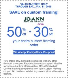 jo ann fabric coupons find a jo ann coupon