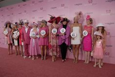Longines Kentucky Oaks 139 Fashion Contest Kentucky Derby Fashion, Derby Time, Preakness Stakes, Run For The Roses, Races Fashion, Horse Racing, Lds, Tea Time, Harajuku