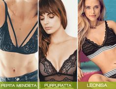 Tops bralette en encaje muy cómodos #bralette #TiendasOnline #brasieres #Moda
