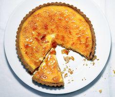 Crème Brûlée Tart Recipe at Epicurious.com
