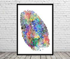 Hey, I found this really awesome Etsy listing at https://www.etsy.com/listing/247781366/fingerprint-fingerprint-art-watercolor
