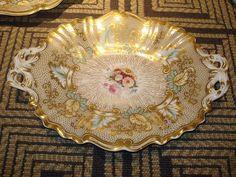 Antique Rockingham Porcelain Dish by Charles30305, via Flickr
