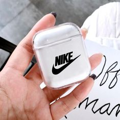 Airpods Protective case gen 1 and 2 Nike headphone apple Fone Apple, Airpods Apple, Apple Case, Cute Ipod Cases, Girly Phone Cases, Nike Iphone Cases, Accessoires Iphone, 3d Pattern, Earphone Case