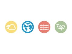 Nature Icons by Omar Garcia