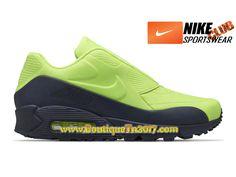 pretty nice eee79 df88a NikeLab x Sacai Air Max 90 Chaussures Nike Basket Pas Cher Pour Homme Vert  Noir